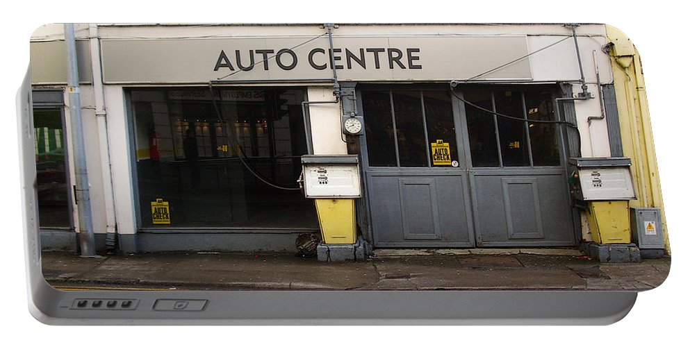 Auto Portable Battery Charger featuring the photograph Auto Centre by Tim Nyberg