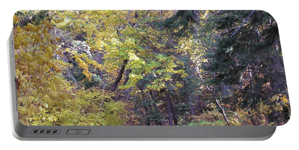 Autumn Photographs Portable Battery Charger featuring the photograph Autum Colors by Louise Magno