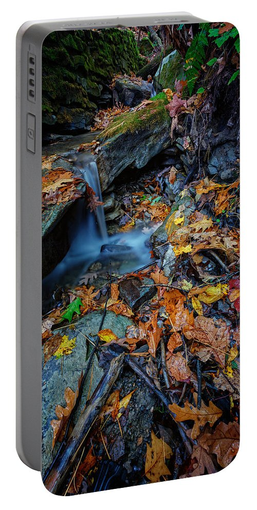 Autumn Portable Battery Charger featuring the photograph Autumn At A Mountain Stream by Rick Berk
