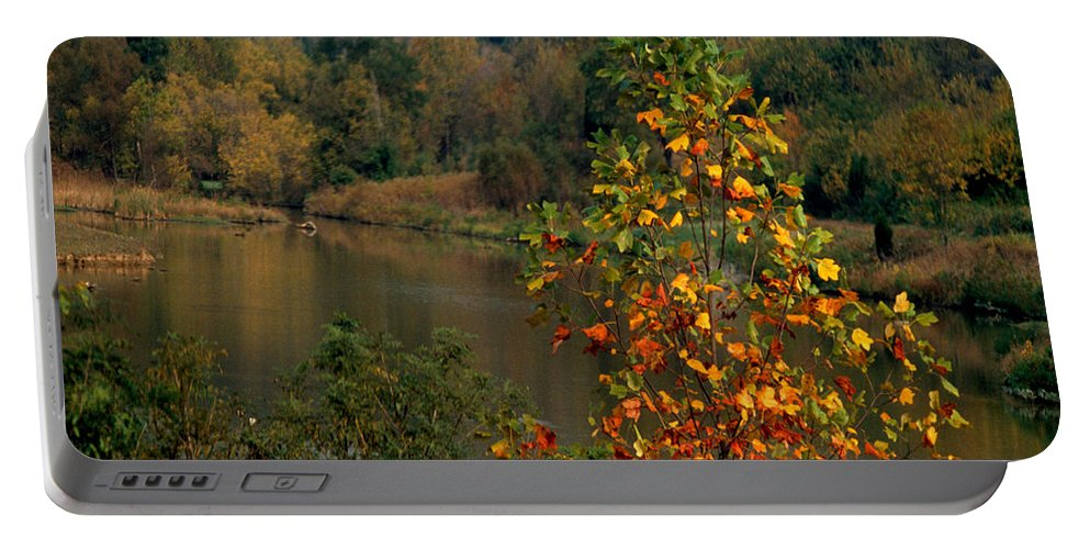 Fall Colors Portable Battery Charger featuring the photograph Autumn Colors by Gary Wonning