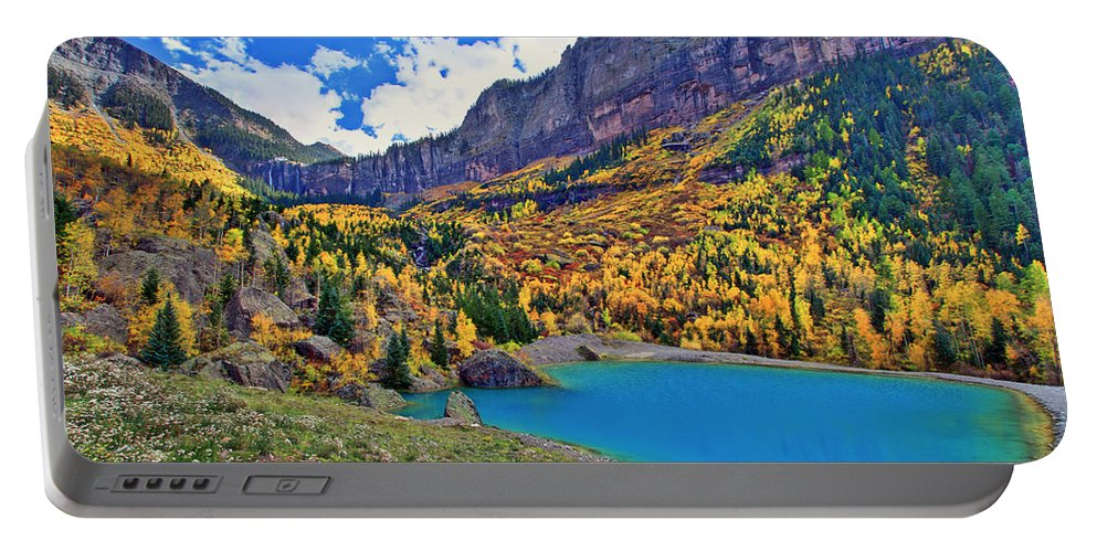 Colors Portable Battery Charger featuring the photograph Autumn Colors by Scott Mahon