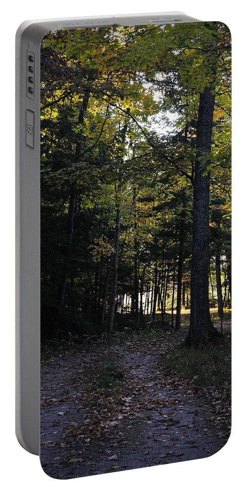 Fall Portable Battery Charger featuring the photograph Autumn Glen by Tim Nyberg