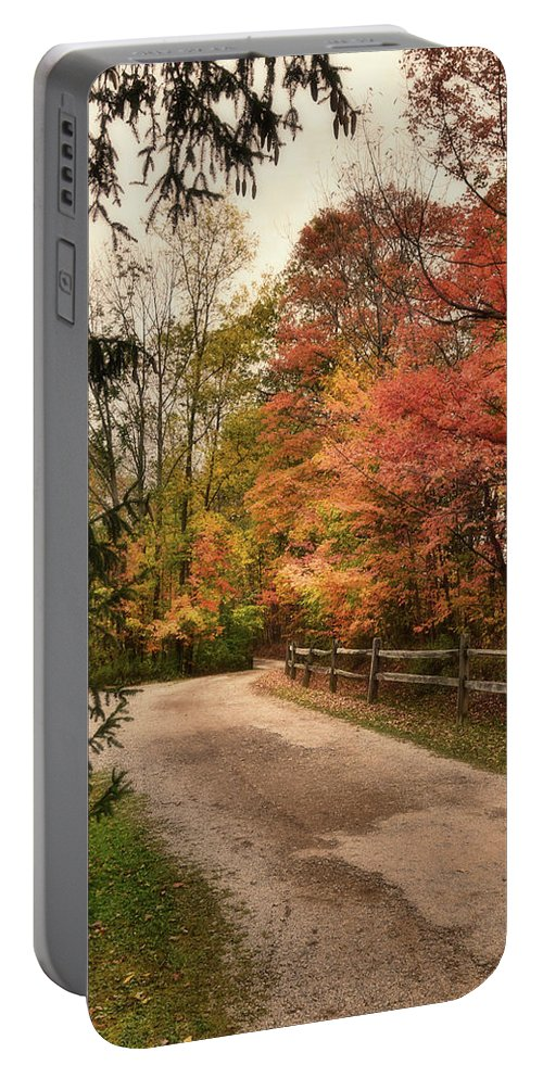 Autumn Portable Battery Charger featuring the photograph Autumn Glory by Reese Lewis