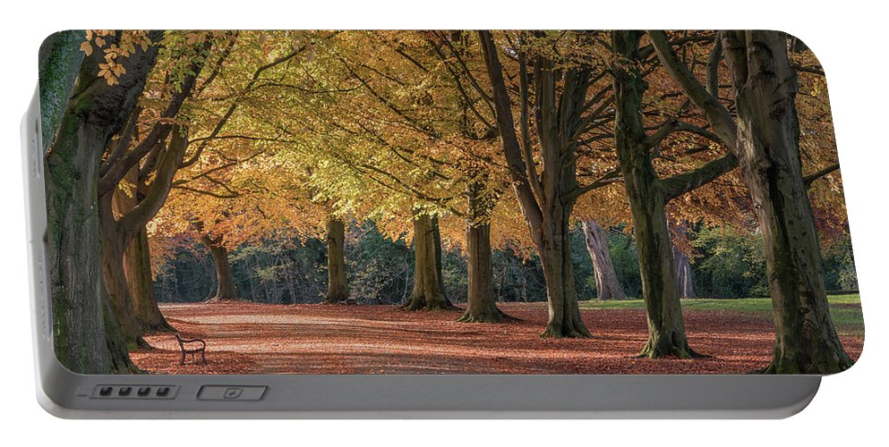 Autumn Portable Battery Charger featuring the photograph Autumn In Clifton, Bristol by Carolyn Eaton