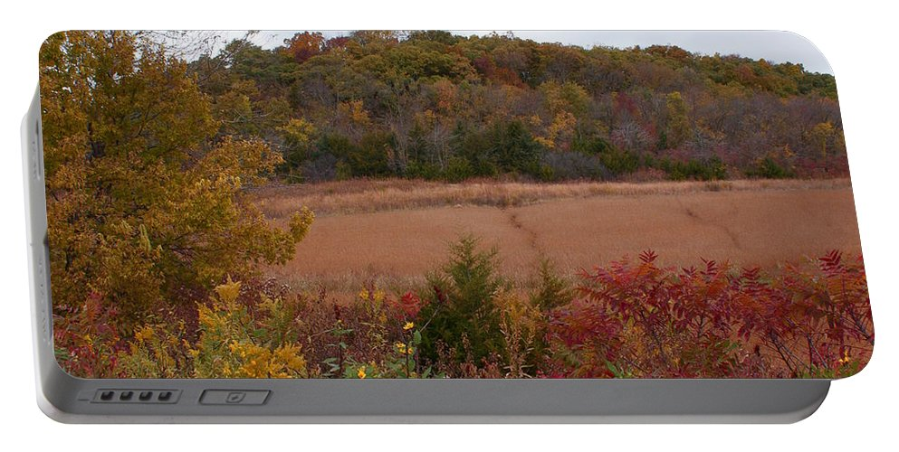 Missouri Autumn Portable Battery Charger featuring the photograph Autumn In Missouri by Joanne Smoley