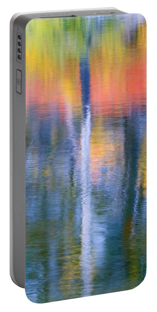 Reflection Portable Battery Charger featuring the photograph Autumn Resurrection by Mike Dawson