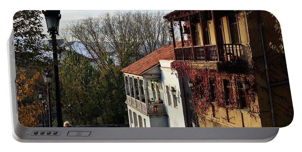 Autumn Portable Battery Charger featuring the photograph Autumn by Tamar Mirianashvili
