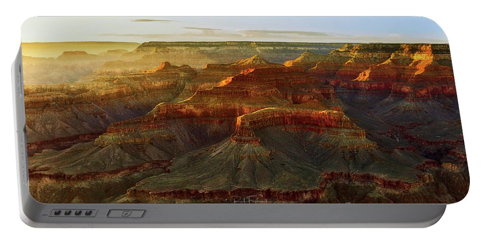 Arizona Portable Battery Charger featuring the photograph Awash With Light by Rick Furmanek