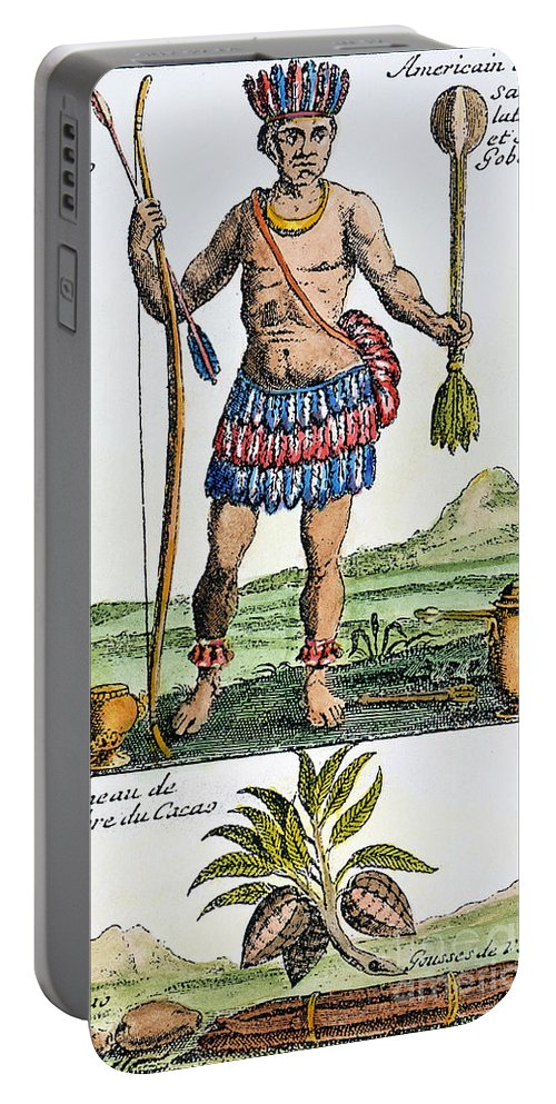 1685 Portable Battery Charger featuring the photograph Aztec: Chocolate, 1685 by Granger