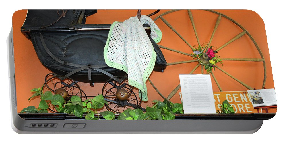 Portable Battery Charger featuring the photograph Baby Buggy by Tony Culpepper