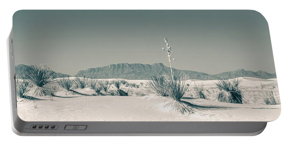 Desert Portable Battery Charger featuring the photograph Back Country by Racheal Christian