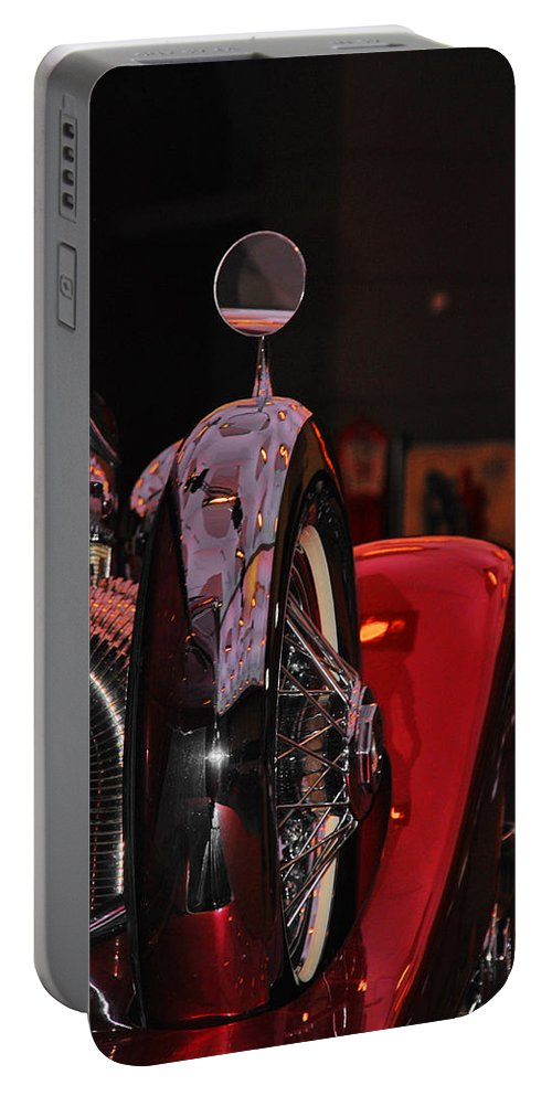 Duesenberg 1932 Car Portable Battery Charger featuring the photograph Back View Of The King by Susanne Van Hulst