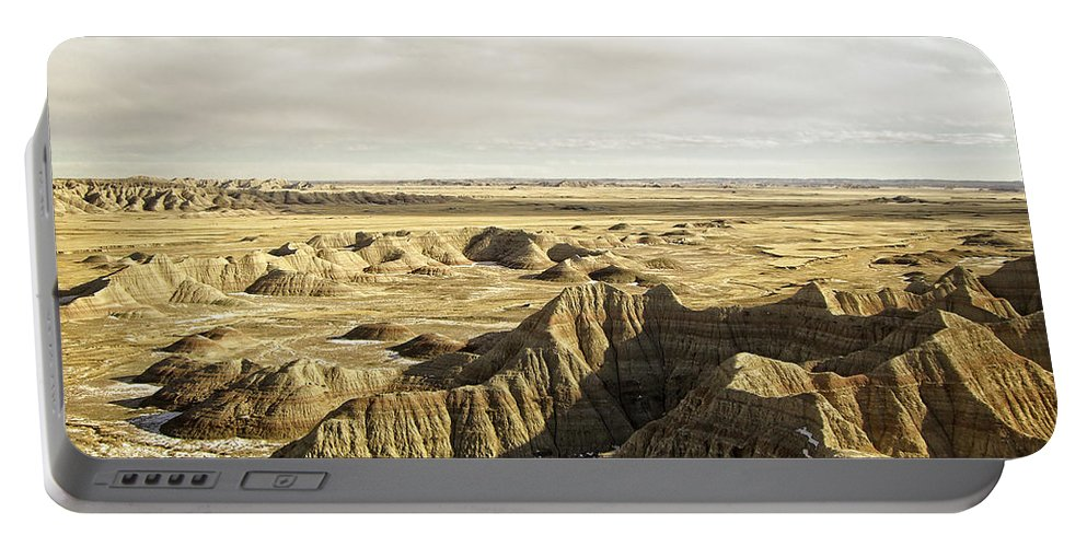 Badlands Portable Battery Charger featuring the photograph Badlands 2 by Ingrid Smith-Johnsen