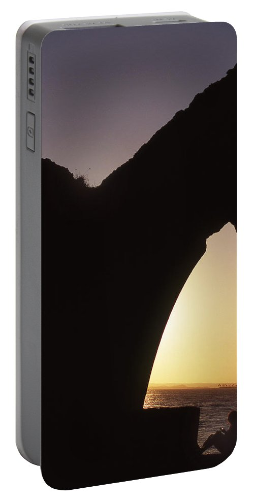 Bahia Portable Battery Charger featuring the photograph Bahian Sunset by Patrick Klauss
