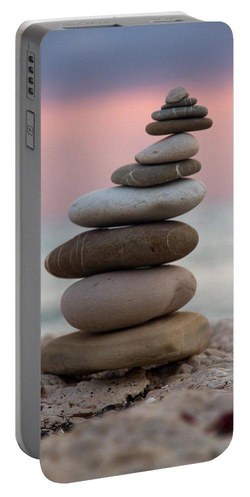 Arrangement Portable Battery Charger featuring the photograph Balance by Stelios Kleanthous