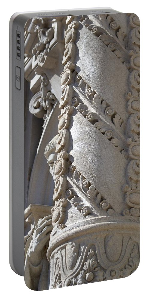 Carving Portable Battery Charger featuring the photograph Balboa Park, San Diego by Dean Ferreira