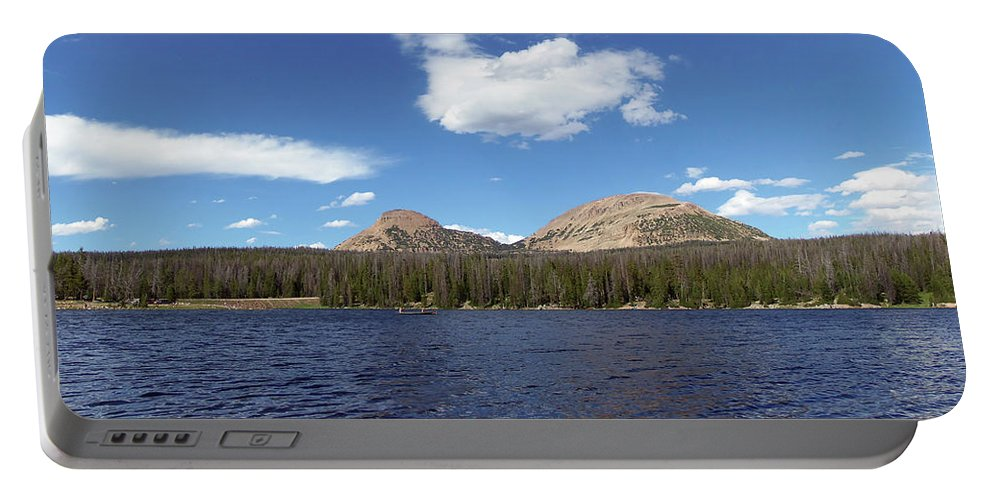 Bald Mountain Portable Battery Charger featuring the photograph Bald Mountain by Julie Tanner