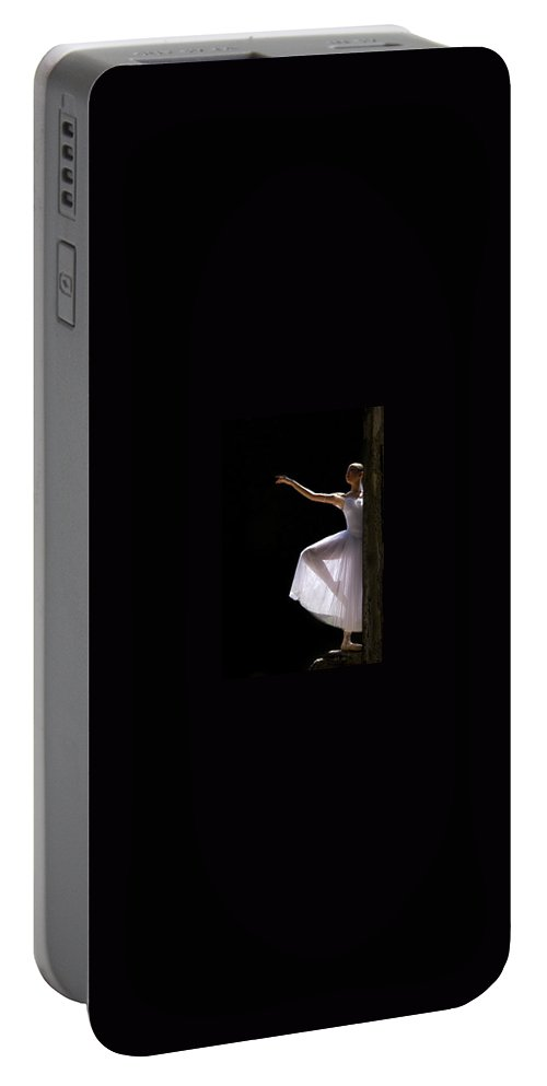 Ballet Dancer Portable Battery Charger featuring the photograph Ballet Dancer6 by George Cabig