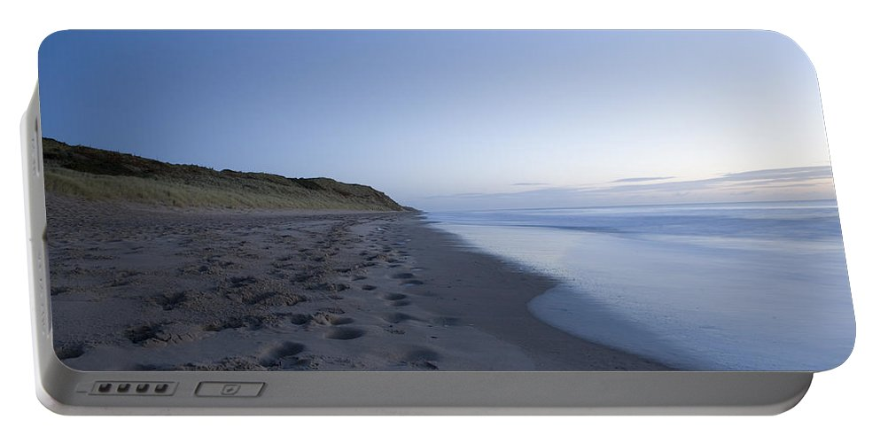 Ballynaclash Portable Battery Charger featuring the photograph Ballynaclash Beach At Dawn by Ian Middleton