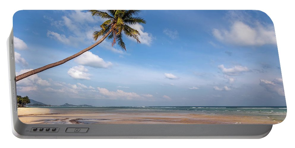 Thailand Portable Battery Charger featuring the photograph Ban Harn Beach by Adrian Evans