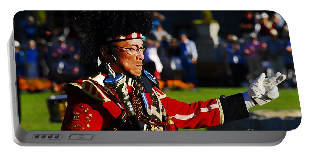 Band Leader Portable Battery Charger featuring the photograph Band Leader by David Lee Thompson