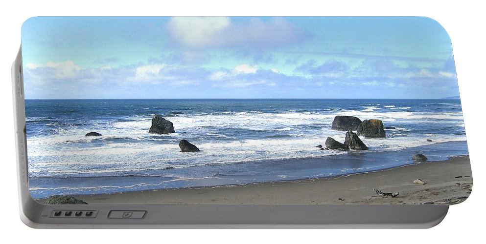 Bandon Portable Battery Charger featuring the photograph Bandon 16 by Will Borden