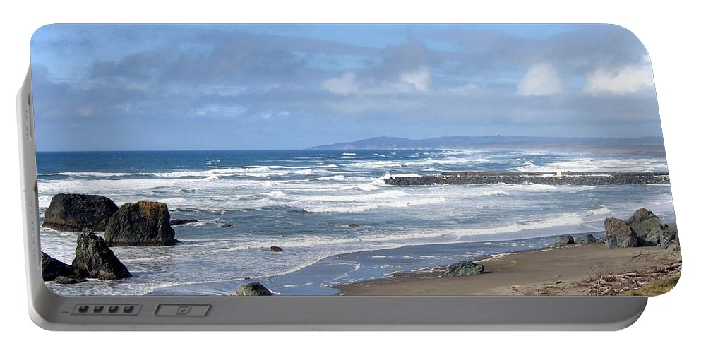 Bandon Portable Battery Charger featuring the photograph Bandon 21 by Will Borden