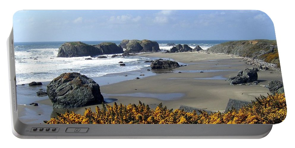 Bandon Portable Battery Charger featuring the photograph Bandon 4 by Will Borden
