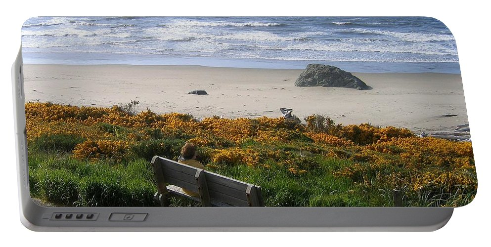 Bandon Portable Battery Charger featuring the photograph Bandon 6 by Will Borden