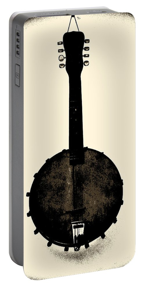 Banjo Portable Battery Charger featuring the photograph Banjo Mandolin by Bill Cannon