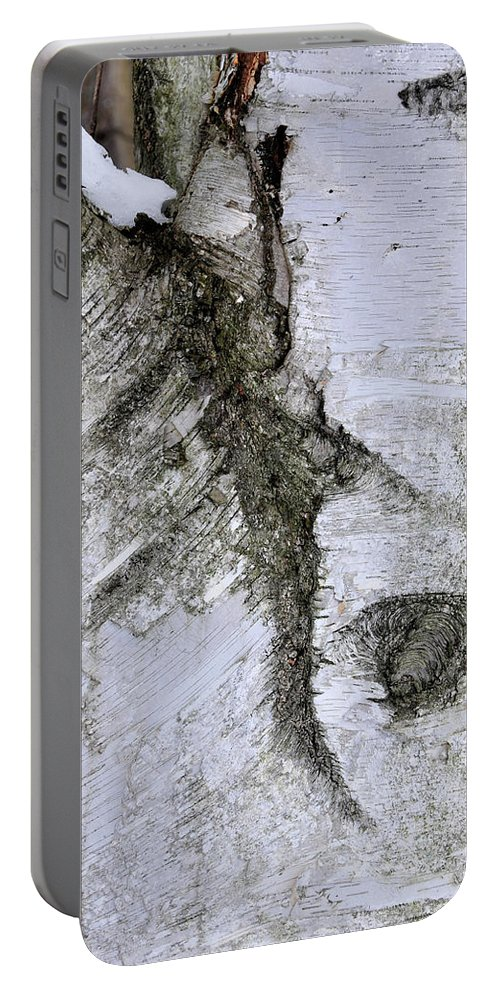 Tree Bark Portable Battery Charger featuring the photograph Bark by David Arment