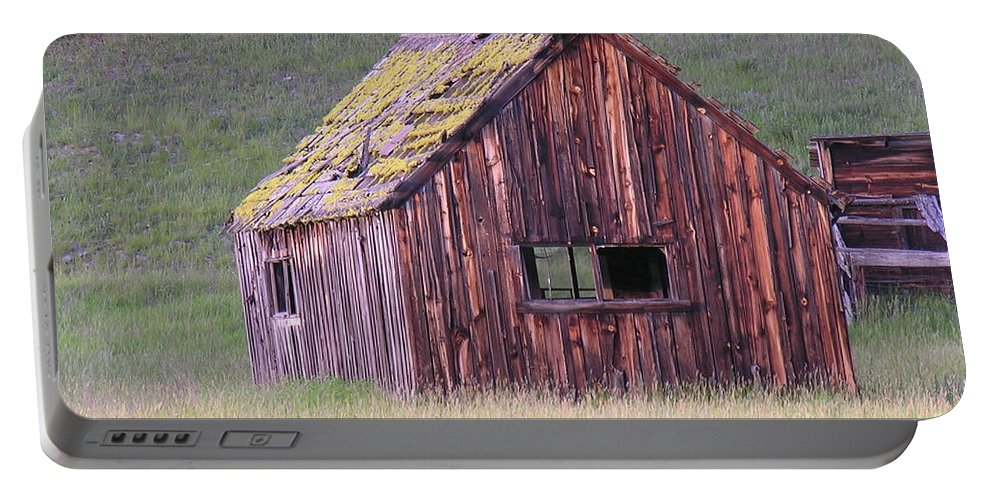 Barn Portable Battery Charger featuring the photograph Barm by Diane Greco-Lesser