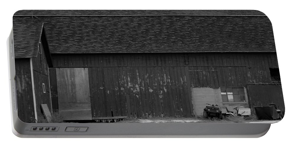 Portable Battery Charger featuring the photograph Barn 10 by John Bichler