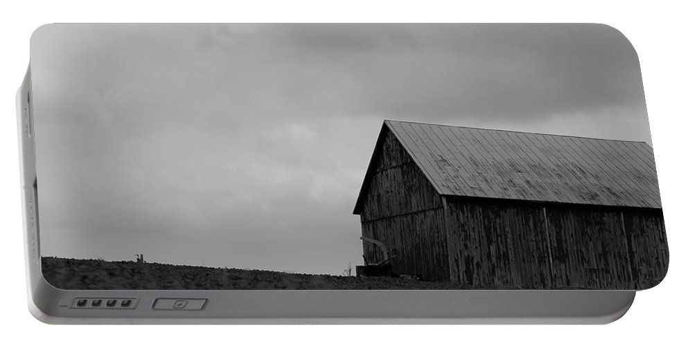 Portable Battery Charger featuring the photograph Barn 8 by John Bichler