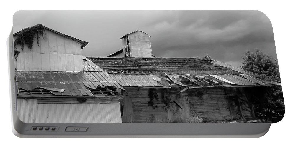 Photo For Sale Portable Battery Charger featuring the photograph Barn Needs A Little Work by Robert Wilder Jr