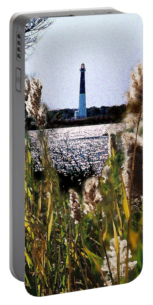 Barnegat Portable Battery Charger featuring the digital art Barnegat Bay by Steve Karol