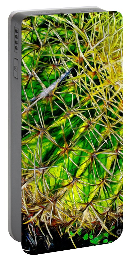 Paintings Photos Drawings Digital Art Mixed Media Painters Illustrators Photographers Digital Artists Abstract Architecture Fantasy Impressionism Landscape Portraits Science Fiction Still Life Surrealism Editorial Satire Statement Nature Artificial Mechanical Organic Portable Battery Charger featuring the mixed media Barrel by Kevin Keeling