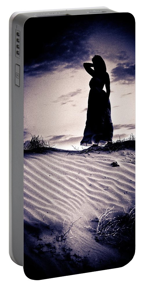 Dune Portable Battery Charger featuring the photograph Barren Dream by Scott Sawyer