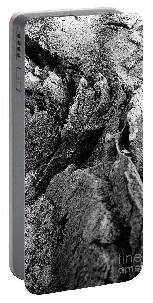 Basalt Portable Battery Charger featuring the photograph Basalt Textures by Gaspar Avila