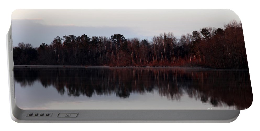 Base Portable Battery Charger featuring the photograph Base by Amanda Barcon