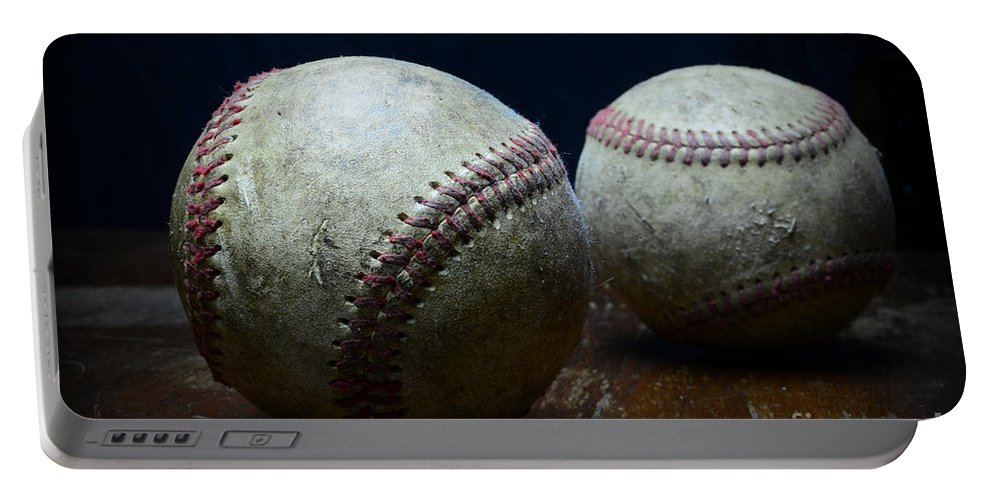Paul Ward Portable Battery Charger featuring the photograph Baseball Americas Favorite Game by Paul Ward