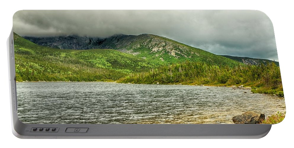 Basin Pond Portable Battery Charger featuring the photograph Basin Pond by Elizabeth Dow