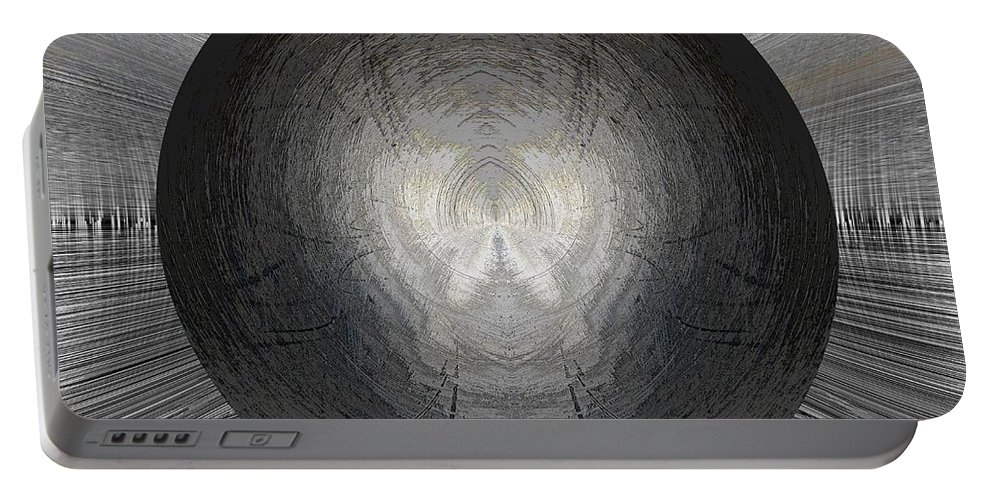 Battlefield Portable Battery Charger featuring the digital art Battlefield Within by Tim Allen