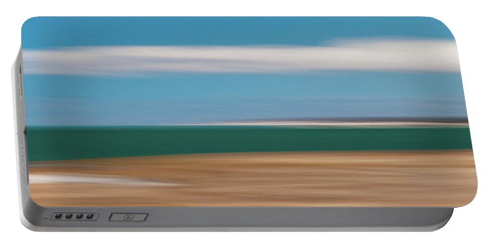 Usa Portable Battery Charger featuring the photograph Bay Cloud by John Whitmarsh