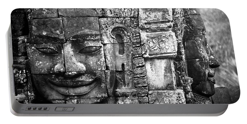 Bayon Temple Portable Battery Charger featuring the photograph Bayon IIi by Patrick Klauss