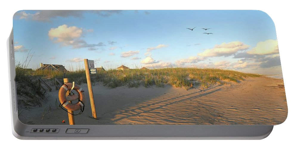 Beach Portable Battery Charger featuring the photograph Beach Access 30 by Diana Angstadt