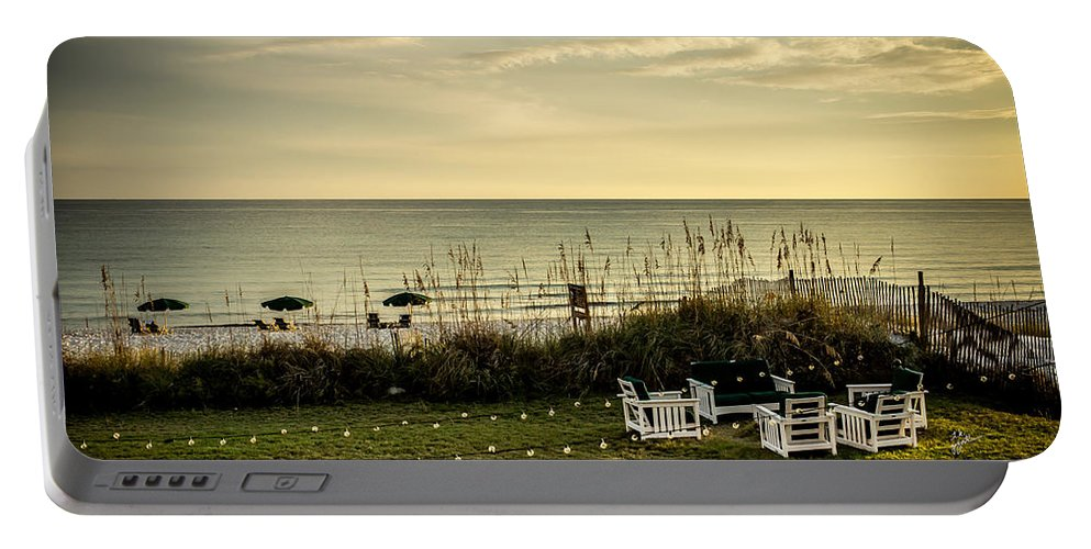 Florida Beach Portable Battery Charger featuring the photograph Beach Dreams by TK Goforth