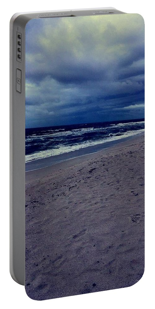 Portable Battery Charger featuring the photograph Beach by Kristina Lebron