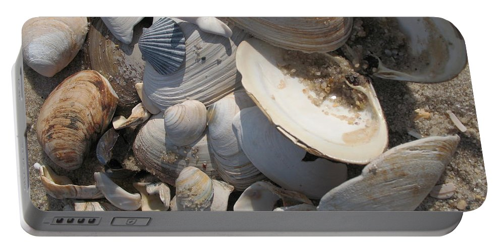 Beach Portable Battery Charger featuring the photograph Beach Still Life IIi by Christiane Schulze Art And Photography