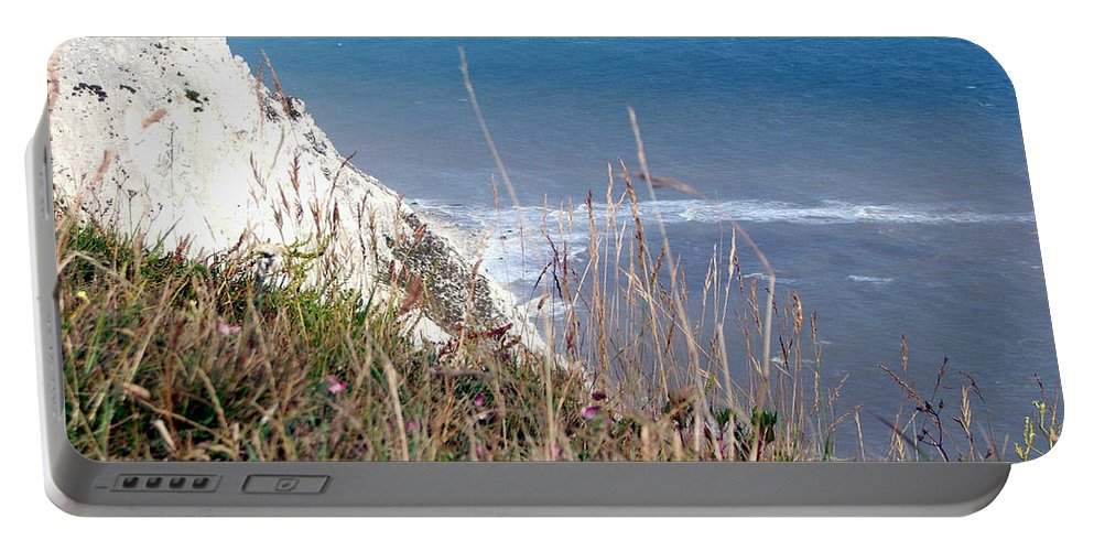 Beachy Head Portable Battery Charger featuring the photograph Beachy Head Sussex by Heather Lennox